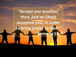 Accept One Another as Christ Accepted You   Fort Myers Florida Evangelical  Free Church